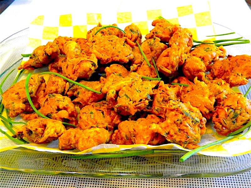 The Hirshon Bengali Shrimp Fritters – শ্রিম্প শামুক