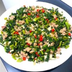 The Hirshon Chinese Pickled Mustard Greens With Minced Pork – 肉末雪里蕻