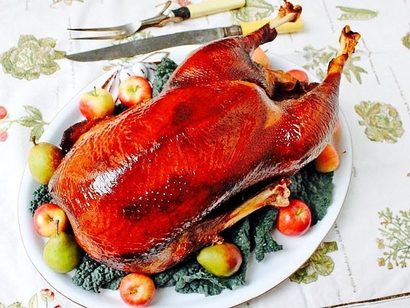 The Hirshon Victorian Roast Goose with Sage, Onion & Apple Stuffing