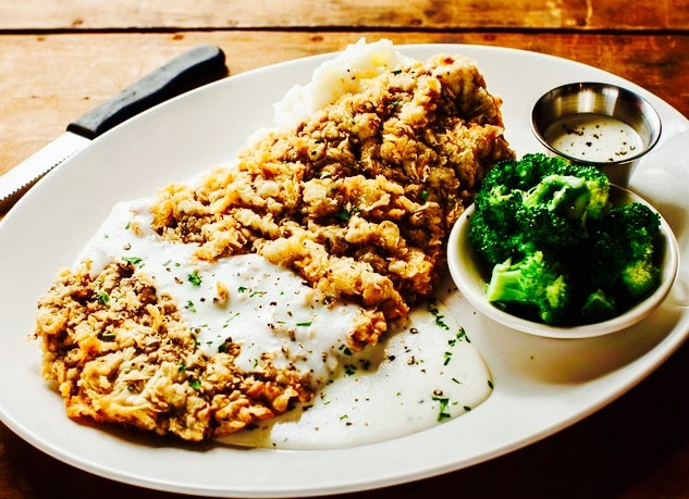 The Hirshon Chicken-Fried Steak With Cream Gravy - The Food ...