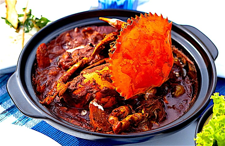 The Hirshon Sri Lankan Jaffna Crab Curry