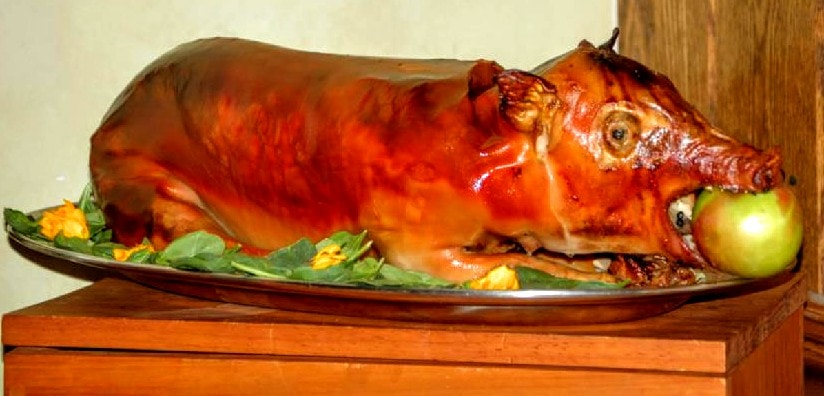 The Hirshon Bavarian Roast Suckling Pig – Bayrisches Bratensäuglingshwein