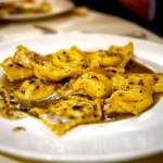 The Hirshon Umbrian Agnolotti in Truffle Sauce - Agnolotti Al Tartufo Nero Di Norcia