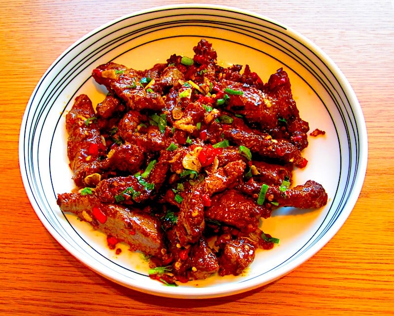 The Hirshon Hunan Beef with Cumin - 孜然牛肉
