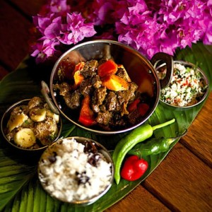 The Hirshon Fijian Goat Curry And Coconut Chutney