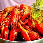 The Hirshon Swedish Crayfish With Dill Feast - Kräftor Med Dill