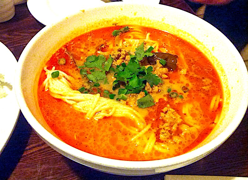 The Hirshon Royal Lao Rice Noodles with Coconut Chili Soup - ເຂົ້າປຸ້ນ