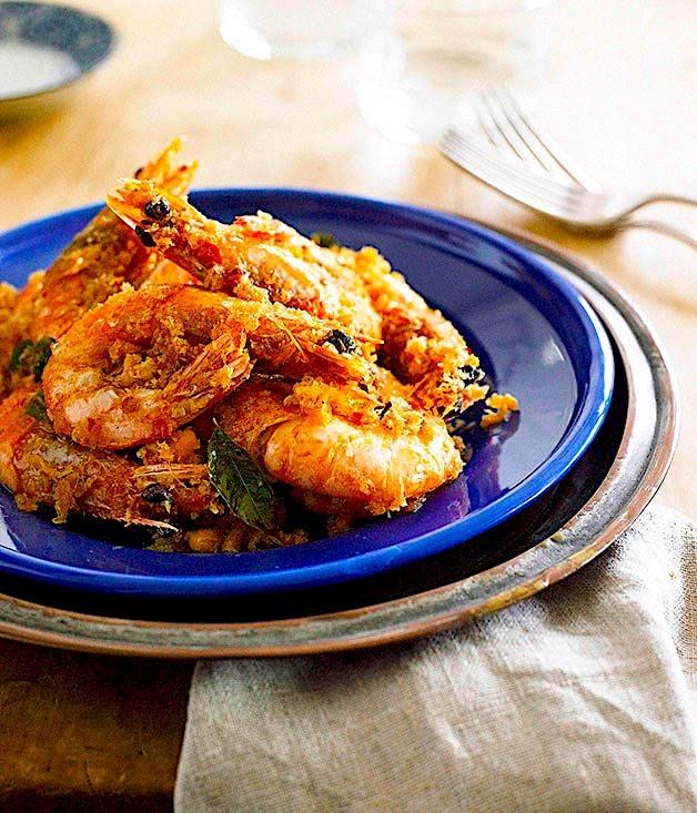 The Hirshon Peranakan Butter Prawns - 奶油蝦