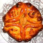 The Hirshon Greek Spiced Christmas Bread - Χριστόψωμο