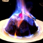 The Hirshon Flaming Hanukkah Pudding