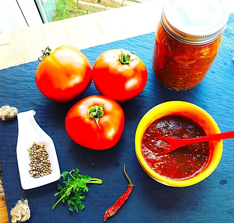 The Hirshon Georgian Tomato Sauce – ტომატის საწებელი