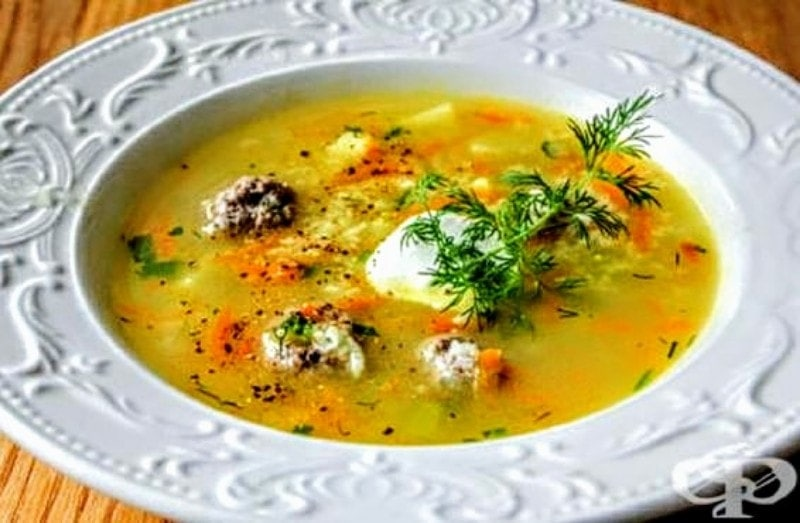 The Hirshon Bulgarian Meatball Soup - Супа топчета