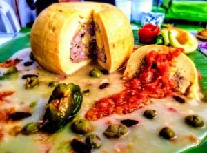 The Hirshon Yucatecan Stuffed Cheese – Queso Relleno