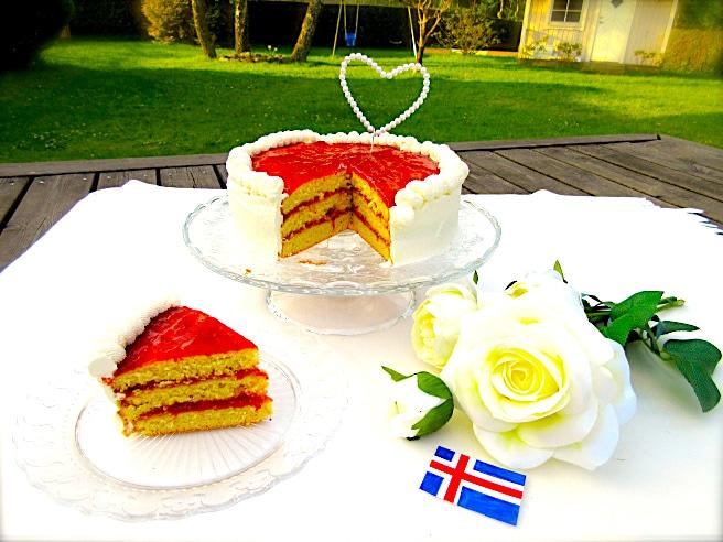 The Hirshon Icelandic Almond Cake - Möndlukaka