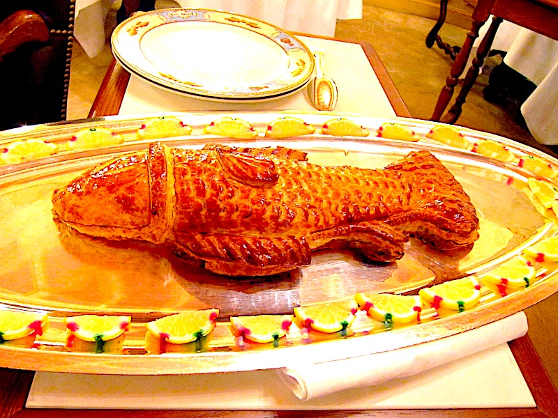 Paul Bocuse Sea Bass in Pastry with Sauce Choron