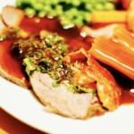 The Hirshon Drambuie Roast Lamb With Gravy And The Hirshon Mint Sauce