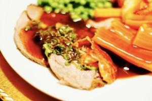 The Hirshon Drambuie Roast Lamb With Gravy And The Hirshon Mint Sauce