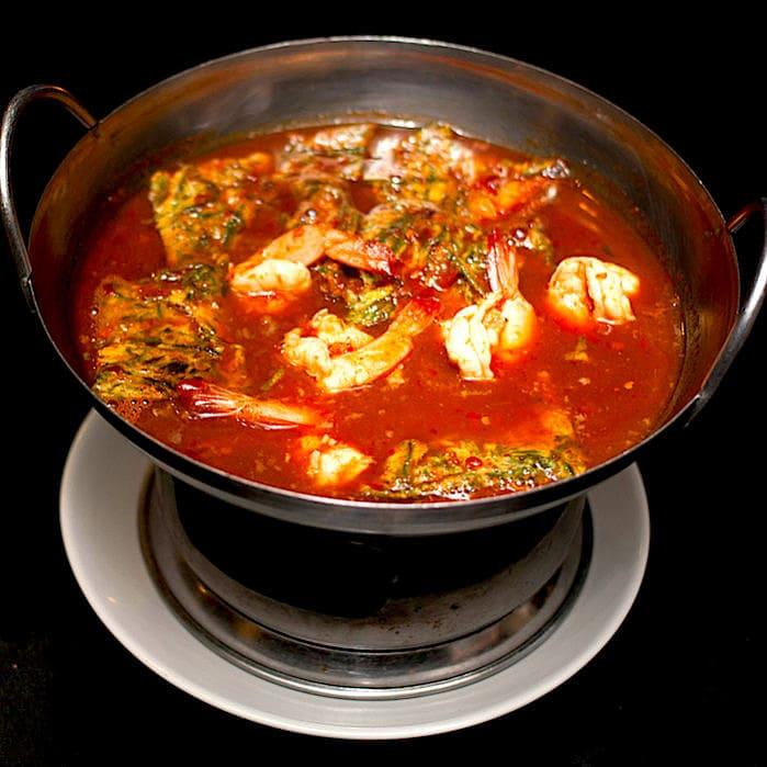 The Hirshon Thai Seafood Sour Orange Curry – แกงส้ม