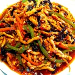 The Hirshon Sichuan Shredded Pork in Hot Garlic Sauce -鱼香肉丝
