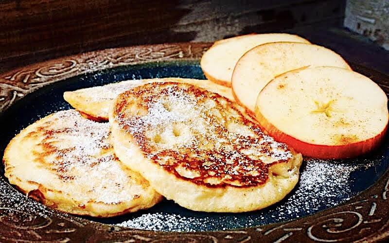 The Hirshon Latvian Apple Pancakes - Ābolu Pankūkas
