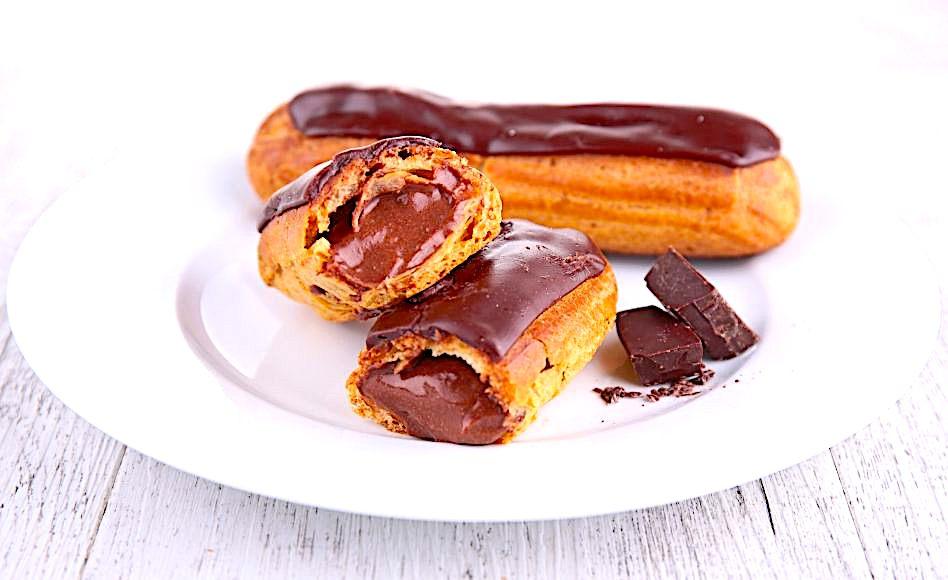 Alain Ducasse's Chocolate Éclairs