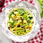 The Hirshon Puglian Pasta With Greens, Sausage And Anchovy - Orrechiette Alla Barese