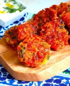 The Hirshon Santorini Tomato Keftedes – κεφτέδες ντομάτα