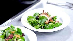 Andrew Zimmern's Kentucky Country Ham 'Kilt' Salad
