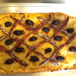 The Hirshon Provençal Onion, Olive and Anchovy Tart - Pissaladière