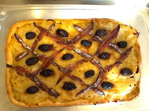 The Hirshon Provençal Onion, Olive and Anchovy Tart – Pissaladière