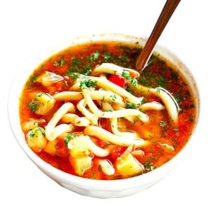 The Hirshon Uzbek Lamb, Noodle and Vegetable Soup – Lagʻmon