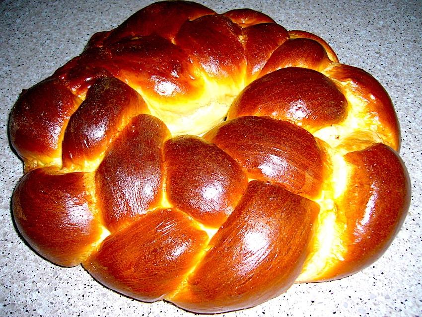 The Hirshon Rosh Hashanah Round Challah - – רֹאשׁ הַשָּׁנָה חַלָּה