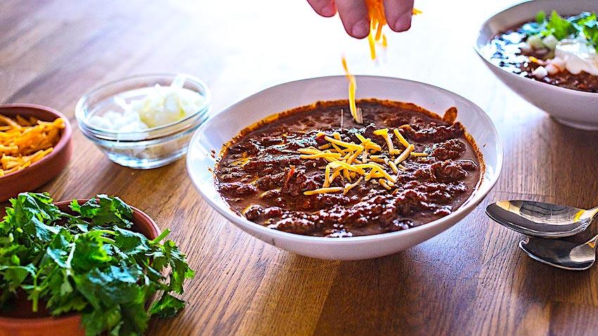 The Hirshon Texas Chili