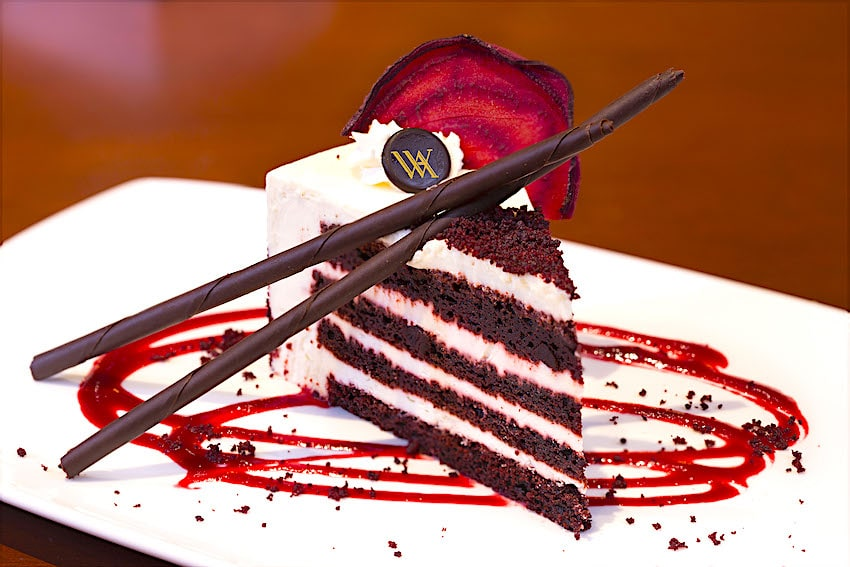 The Waldorf-Astoria Red Velvet Cake