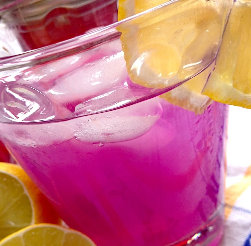The Hirshon Georgian Purple Basil Thirst Quencher - რეჰანის ლიმონათი