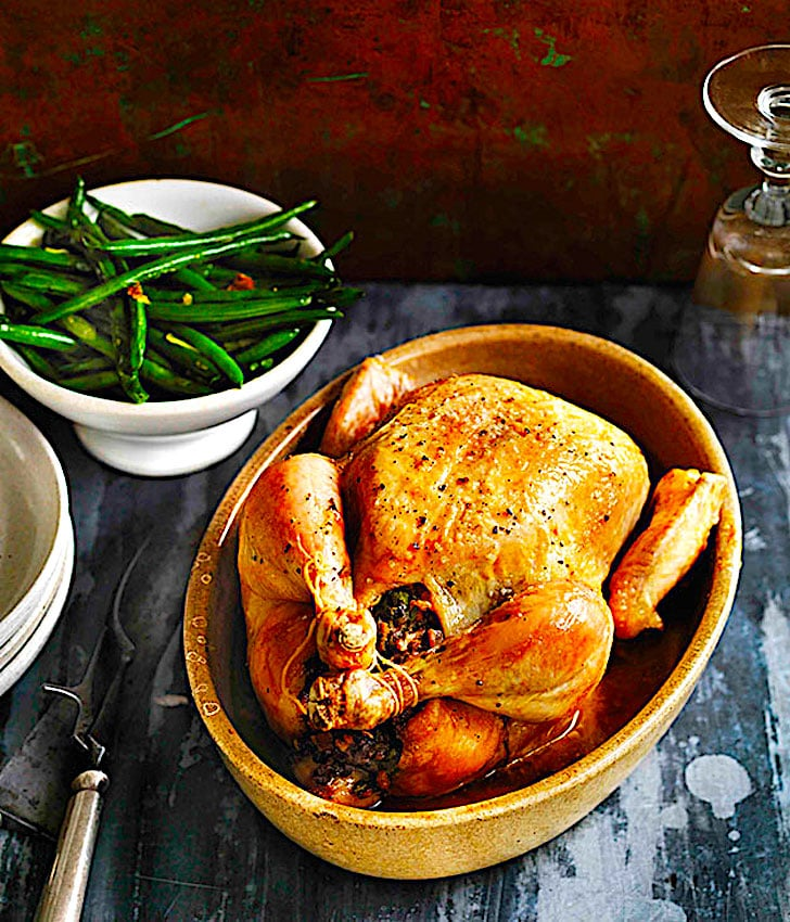 The Hirshon Calabrian Chicken Roasted in Sea Water - Gadduzzu all'Acqua 'I Mari