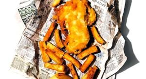 Heston Blumenthal's Beer & Vodka Battered Fish & Chips