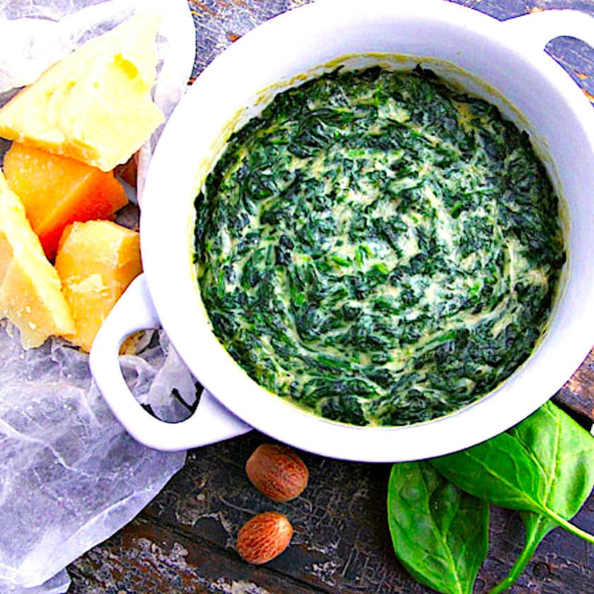 The Whitehall Club Creamed Spinach
