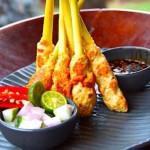 The Hirshon Indonesian Seafood Sate - Sate Lilit Sambal Matah