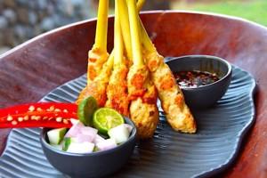 The Hirshon Indonesian Seafood Sate – Sate Lilit Sambal Matah