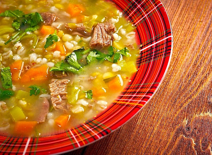 The Hirshon Outer Hebrides Scotch Broth with Pepper Dulse