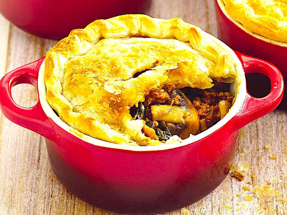 The Hirshon British Steak and Kidney Pie