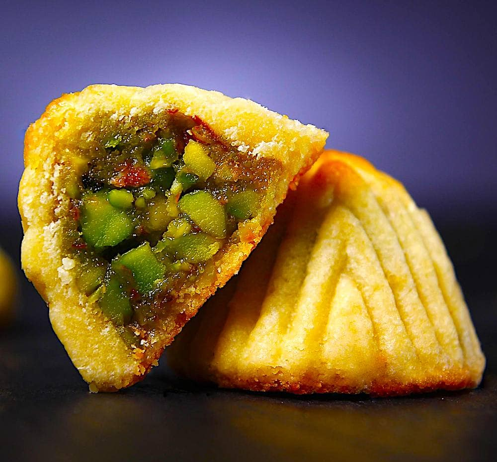 The Hirshon Lebanese Pistachio Maamoul Cookies - معمول - ✮ The Food  Dictator ✮