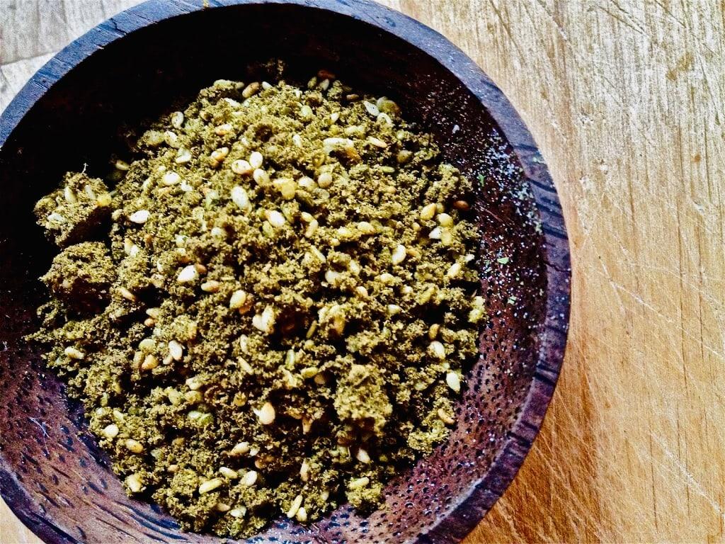 The Hirshon Middle Eastern Za'atar Spice Blend – زَعْتَر, זעתר