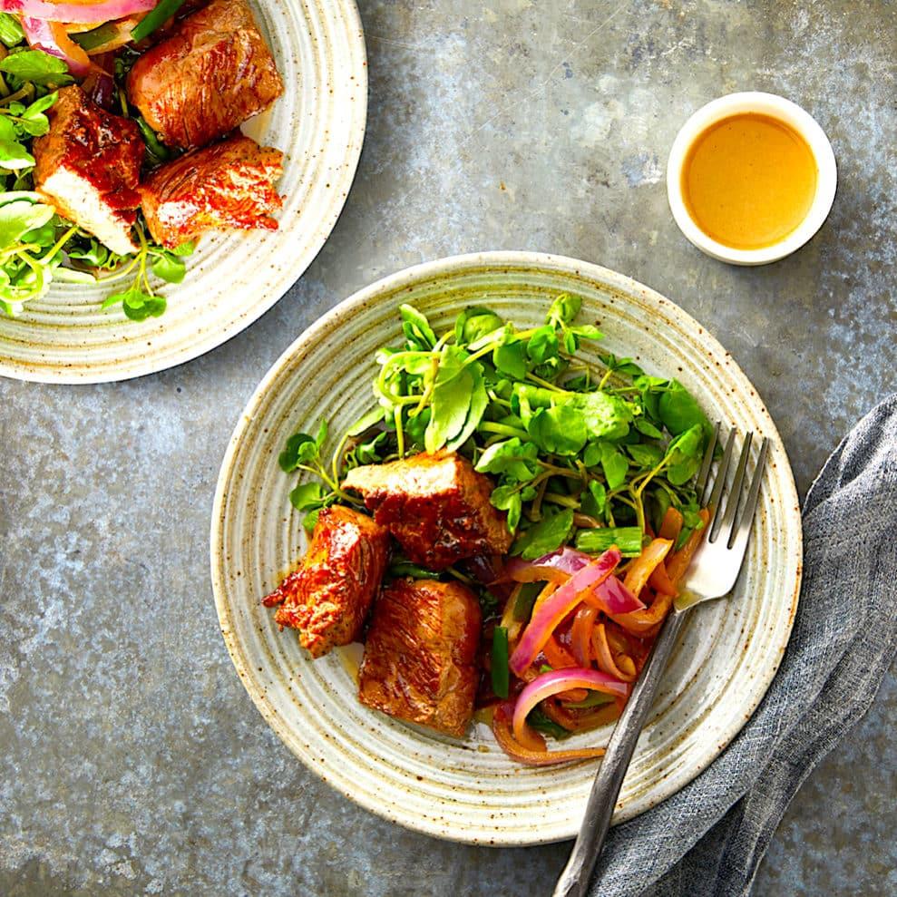 Charles Phan's Vietnamese Shaking Beef - Bò Lúc Lắc