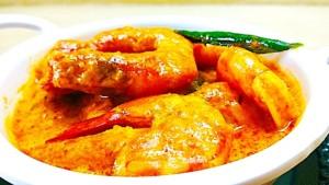 The Hirshon Bangladeshi Prawn Curry With Coconut – চিংড়ী মালাইকারি