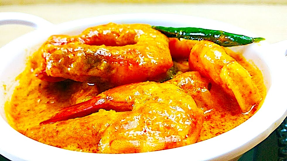 The Hirshon Bangladeshi Prawn Curry With Coconut – চিংড়ী মালাইকারি