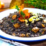 Ino Kuvačić's Croatian Black Squid Ink Risotto - Crni Rižot