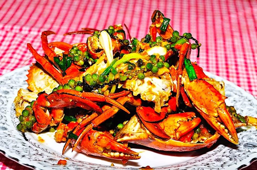 The Hirshon Cambodian Kampot Pepper Crab - ក្តាមម្រេចកំពត