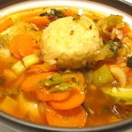 The Hirshon Jewish Kurdish Kubbeh in Chicken Soup - קובה חאמו